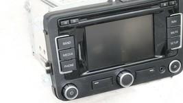 2010-2015 Volkswagen Touch Screen Navigation Radio Head Unit 1K0-035-274-D image 2