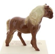 Hagen-Renaker Miniature Ceramic Horse Figurine Chestnut Shetland Pony Stallion image 3