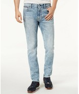 Tommy Hilfiger Denim Men's Slim-Fit Stretch Acid Wash Jeans, Size 42X32,... - $35.52