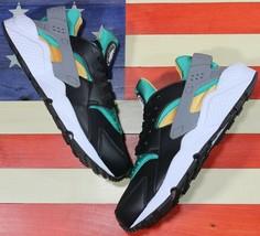Nike Air Huarache Premium Emerald Green Running Shoes [318429-018] Men's... - $88.88