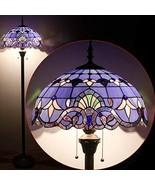 "Tiffany Style Reading Floor Lamp Standing 64"" Baroque Design - $245.99"