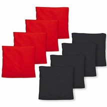 "Real Corn Filled Cornhole Bags - Set 8 Bean Hole Game Regulation Size "" ... - $21.00"