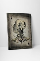 Four Of Spades Vintage Playing Card Gallery Wrapped Canvas Print - $44.50+