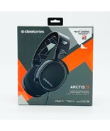 SteelSeries Arctic 3 Multi Platform Wired Gaming Headset - Black 61433 - $57.98