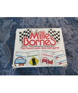 Mille Bornes Vintage French Auto Race Card Game Parker Brothers 1982  - $18.88