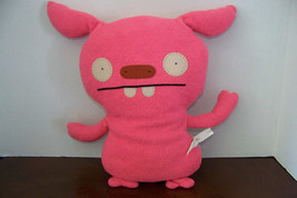 "2007 uglydoll Puglee pink plush toy 15"" - $6.32"