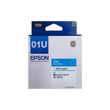 Cyan Ink - Epson 01U Ink Cartridge (for Expression Photo HD XP-15010) - $26.99