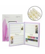 Display Tips Book UV Nail Gel Polish 120 Colors Nail Art Book Salon Acrylic - $30.79