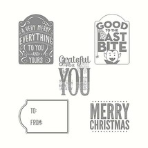 Stampin' Up! Merry Everything Stamp Set and Coordinating Punch
