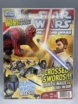 STAR WARS Magazine THE CLONE WARS #14 Newsstand 2012 Titan Comics VG - $18.66