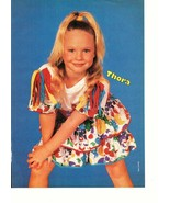 Thora Birch teen magazine pinup clipping Ghost World Now and Then Young Bop - $5.00