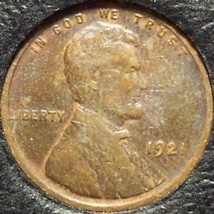 1921 Lincoln Wheat Penny F12 #377 - $0.99