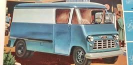 Vtg Chevrolet Paper Ad 1955 3/4 TON COE VAN TRUCK Task Force Model 3442 3542 B8 - $11.25