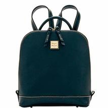Dooney & Bourke Pebble Grain Zip Pod Backpack (Black/Black)