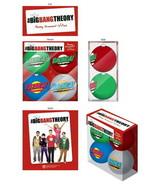 The Big Bang Theory Bazinga! Name Logo Set of 4 Christmas Holiday Ball O... - $14.27