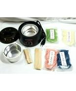 Wax Warmer Kit KOTAMU Hair Removal Waxing Kit with 4 Hard Wax Beans  - $20.85