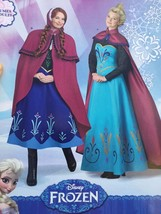Simplicity Sewing Pattern 1210 Ladies Misses Costume Frozen Elsa Anna Si... - $14.10