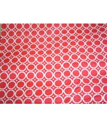 Red with White Circles, Cotton Sewing Fabric - $19.99