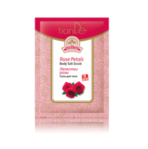 5 packs x Tiande Hainan Tao Rose Petal Body Salt Scrub, 60 g. - $16.06