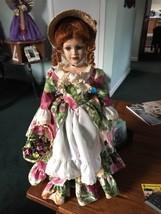 Royal Albert Porcelain Doll ROSE The English Flower Girl  - $50.00