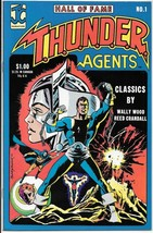 Hall of Fame T.H.U.N.D.E.R. Agents Comic Book #1 JC Prod 1983 VERY FINE - $2.99