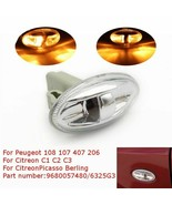 Car Side Indicator Peugeot Citroen Repeater Light Lamp Bulb Vehicle Acce... - $4.94
