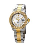 Invicta Angel Silver Dial Two-tone Stainless Steel Strap Women's Watch 20214 - $87.22