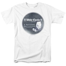 White Castle T-shirt A National Institution 1921 retro graphic tee WHT133 image 1