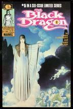 BLACK DRAGON #5 1985-MARVEL COMICS-LIMITED SERIES VF - $18.62