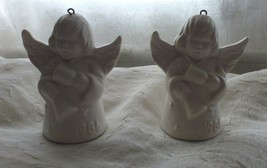 2 1986 Goebel Angel Bells Ornaments - $12.72