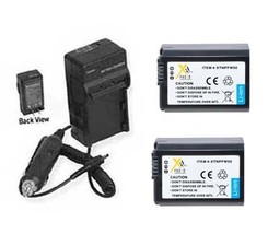 2X Batteries + Charger For Sony NEX-3A NEX-3C NEX-3CA NEX-3CD NEX-3D A7S IL-CE7S - $44.06