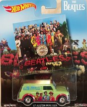 The Beatles Hot Wheels Sgt. Pepper's Lonely Hearts Club Band '67 Austin Mini Van - $24.99