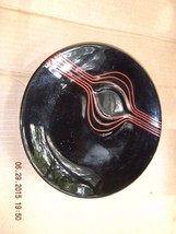 "HANDPAINTED TOYO BLACK LACQUERED DECORATIVE 8"" ... - $9.90"