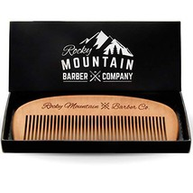Hair Comb - Wood with Anti-Static & No Snag Handmade Brush for Beard, Head Hair,