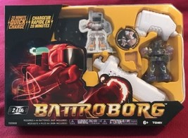 NEW - Tomy Battroborg Remote Controlled RC Battling Robots - Purple Robo... - $17.63