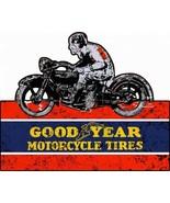 Good Year Motorcycle Tires Plasma Cut Metal Sign - $49.95