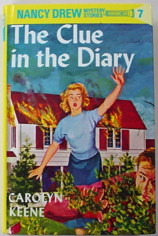 Primary image for FREEBIE When you buy a book from MBM: Nancy Drew The Clue in the Diary Farm #7