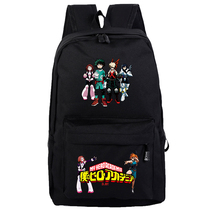 WM My Hero Academia Backpack Daypack Schoolbag Black Bag Izuku Katsuki - $26.89 CAD