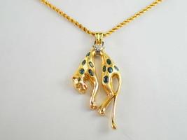 Orb K18Pt900 natural alexandrite diamond necklace A1.68ct Leppard Cartier good - $5,071.71