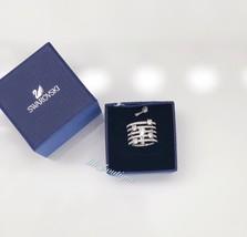 NIB New Swarovski 5166812 Creativity Ring Crystal Rhodium Size 55 Silver... - $73.82