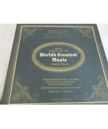 The Basic Library Of The World's Greatest Music No. 20 Record Album  - $5.00