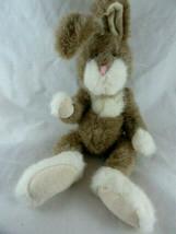 Boyds Bear Classic Vintage Bunny Rabbit White face paws feet & chest floppy - $9.64