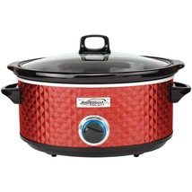 Brentwood Appliances 7-quart Slow Cooker (red) BTWSC157R - $56.50
