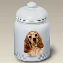 Cocker Spaniel Buff Treat Jar - $44.95