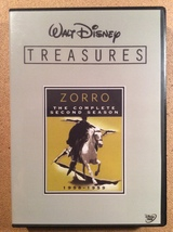 Walt Disney Treasures: Zorro, The Second Season  6-Disc DVD Set!  Guy Wi... - $40.00