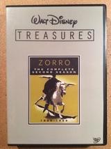 Walt Disney Treasures: Zorro, The Second Season  6-Disc DVD Set!  Guy Wi... - $40.00