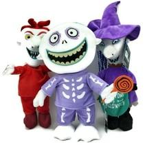 Nightmare Before Christmas LOCK SHOCK, BARREL Halloween Porch Greeters N... - $196.90