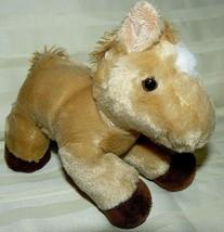 "Aurora brown shiny pony Stuffed Plush 8"" - $12.06"