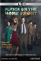 Murder on the Home Front NEW dvd PBS Patrick Kennedy Tamzin Merchant Uno... - $13.81