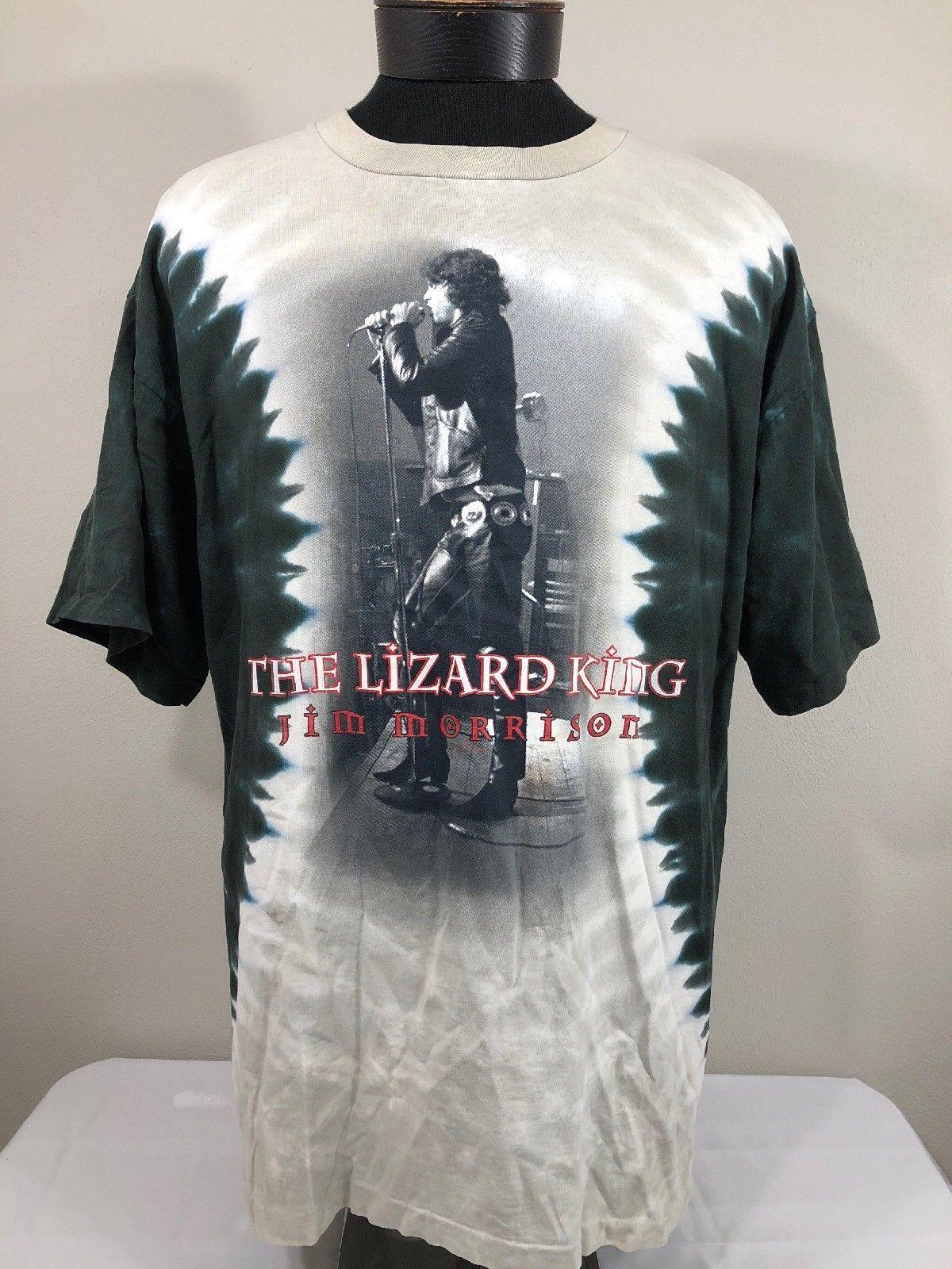 036f146fa1c0e9 VTG Jim Morrison T Shirt Lizard King Liquid and 50 similar items